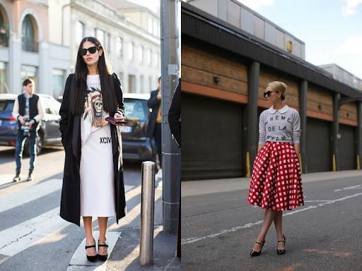 Phong cách phóng khoáng với giày Mary Janes